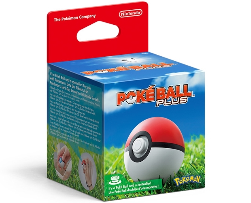 NINTENDO CONTROLLER NINTENDO SWITCH POKE BALL PLUS EUR