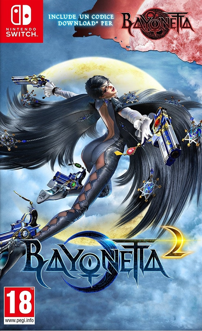 NINTENDO GAME NINTENDO SWITCH BAYONETTA 2 + CODICE DOWNLOAD BAYONETTA 1