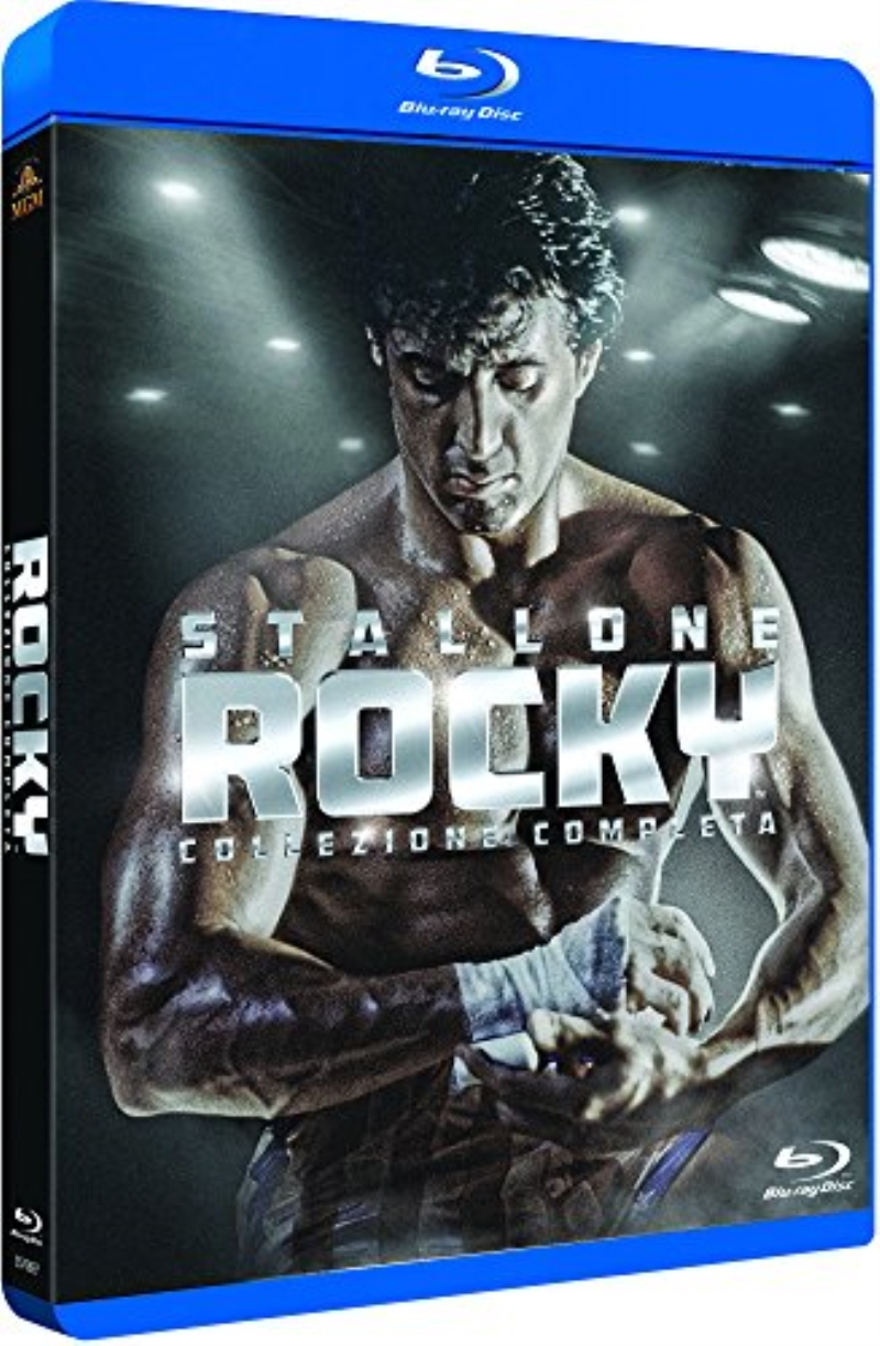 BLU RAY DVD BLURAY ROCKY COLLECTION
