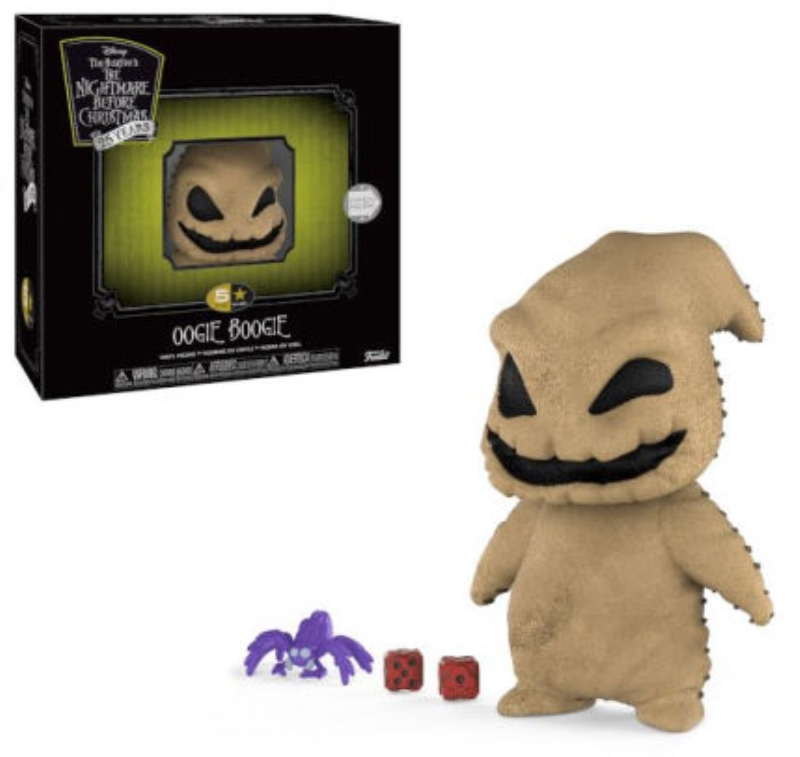 FUNKO ACTION FIGURES FUNKO 5 STAR NIGHTMARE BEFORE CHRISTMAS BAU BAU