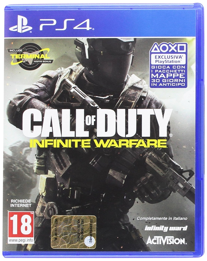 ACTIVISION GAME PS4 CALL OF DUTY INFINITE WARFARE