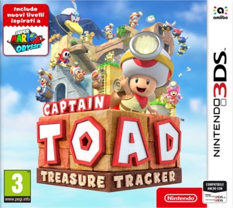 NINTENDO GAME NINTENDO 3DS CAPTAIN TOAD TREASURE TRACKER
