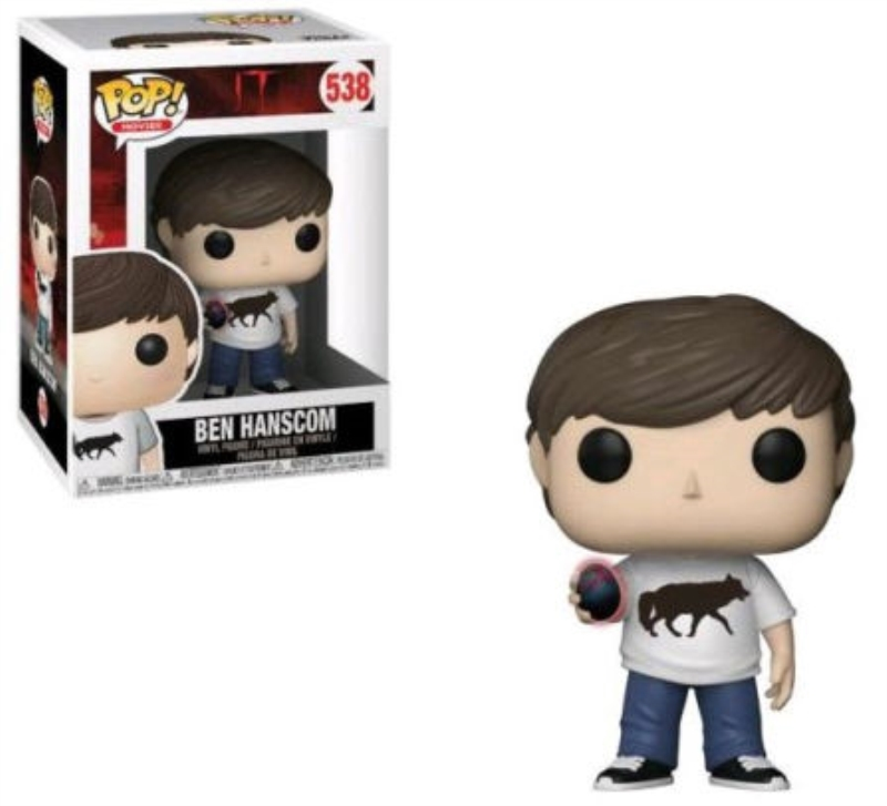 FUNKO ACTION FIGURES FUNKO POP MOVIES IT 2 BEN CON UOVO