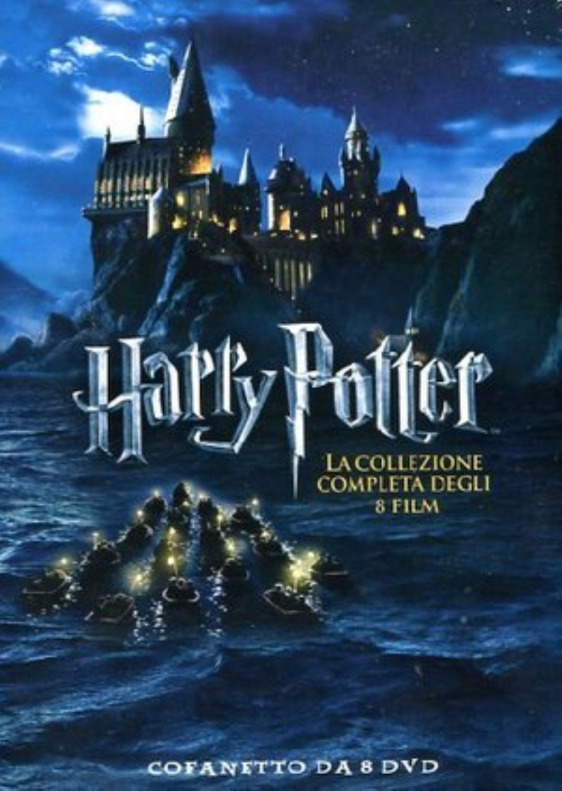 BLU RAY FILM BLU RAY HARRY POTTER COLLECTION 8 FILM