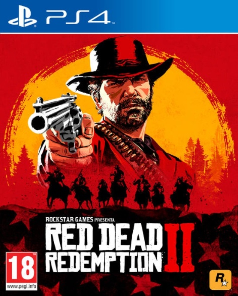 SONY GAME RED DEAD REDEMPTION 2 PS4