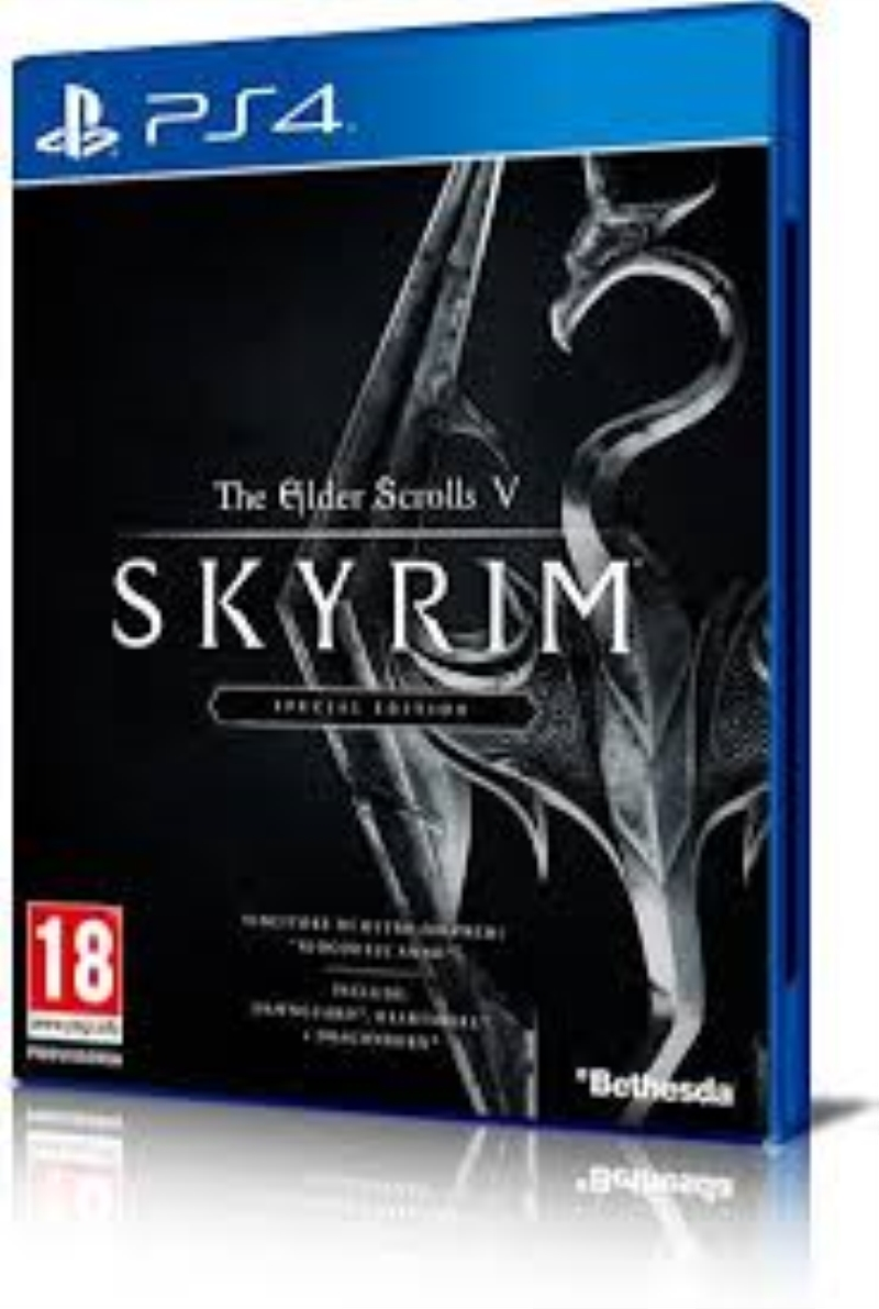 ACTIVISION GAME SONY PS4 THE ELDERSCROLLS V SKYRIM SPECIAL EDITION
