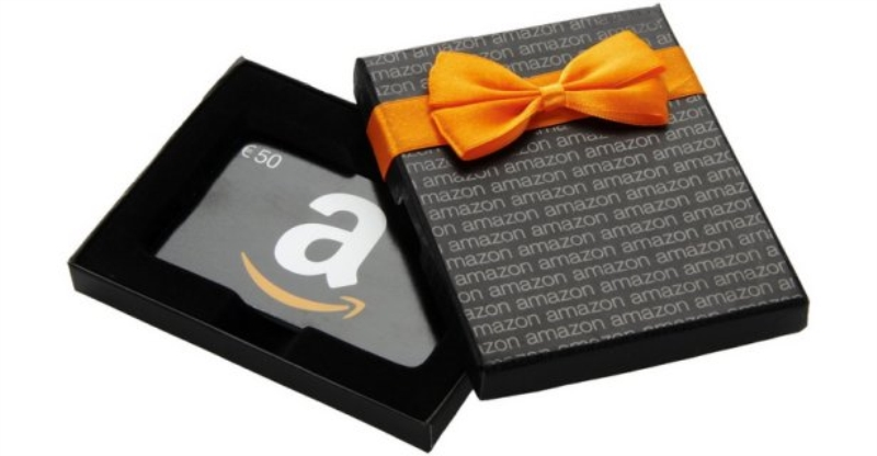 AMAZON CARTA GIFT PREPAGATA AMAZON 50 EURO