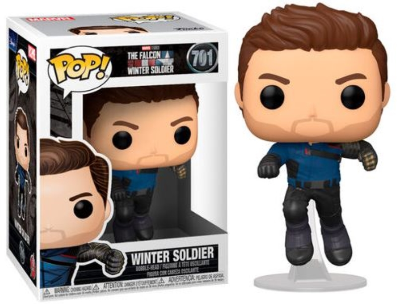 FUNKO ACTION FIGURES FUNKO POP MARVEL TFAWS WINTER SOLDIER