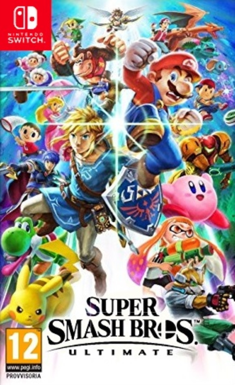 NINTENDO GAME NINTENDO SWITCH SUPER SMASH BROS ULTIMATE