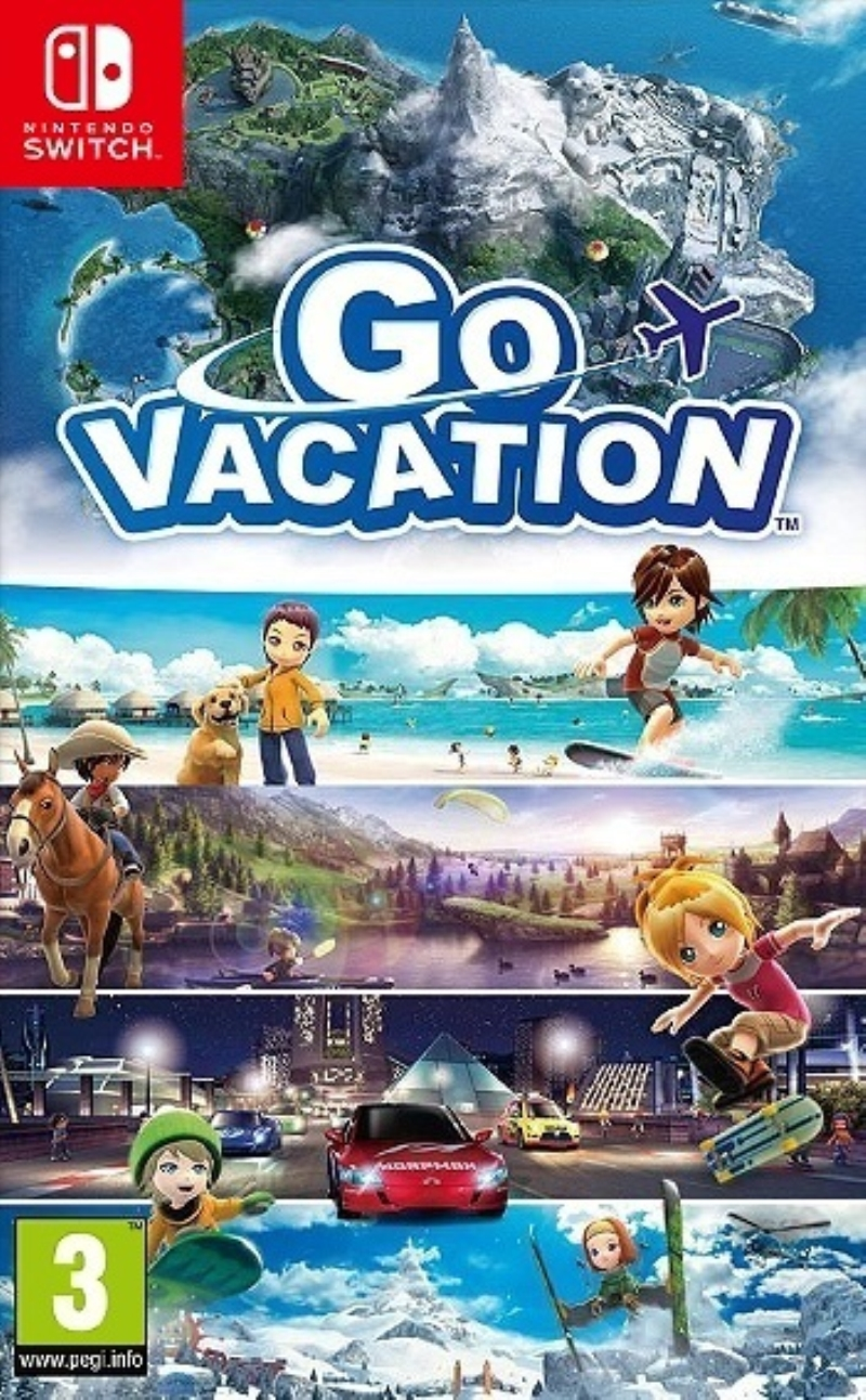 NINTENDO GAME NINTENDO SWITCH GO VACATION