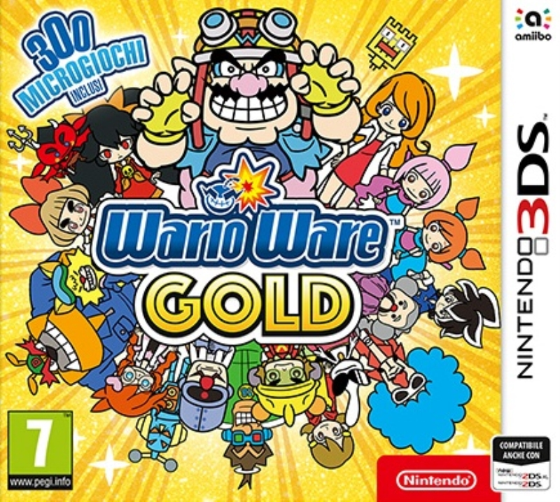 NINTENDO GAME NINTENDO 3DS WARIOWARE GOLD