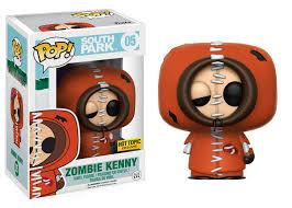 FUNKO ACTION FIGURES FUNKO POP TELEVISION SOUTH PARK ZOMBIE KENNY