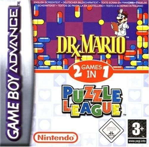 NINTENDO GAME NINTENDO GBA DR MARIO & PUZZLE LEAGUE 2 IN 1