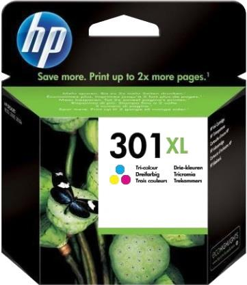 HP CARTUCCIA HP INK 301XL TRICROMIA