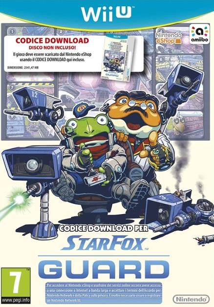NINTENDO GAME NINTENDO WII U STARFOX GUARD CODICE DOWNLOAD