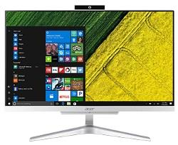 ACER DESKTOP ALL IN ONE ACER Q4 21.5 C I3-7100U RAM 4GB 1TB SILVER