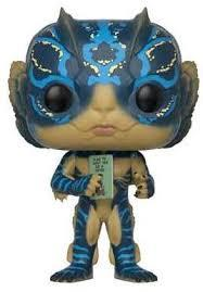 FUNKO ACTION FIGURES FUNKO POP MOVIES FORMA ACQUA UOMO ANFIBIO CARTA