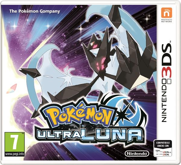 NINTENDO GAME NINTENDO 3DS POKEMON ULTRA LUNA