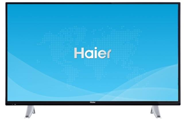 HAIER TV LED HAIER LDF55V150S FULL HDSMART BLACK