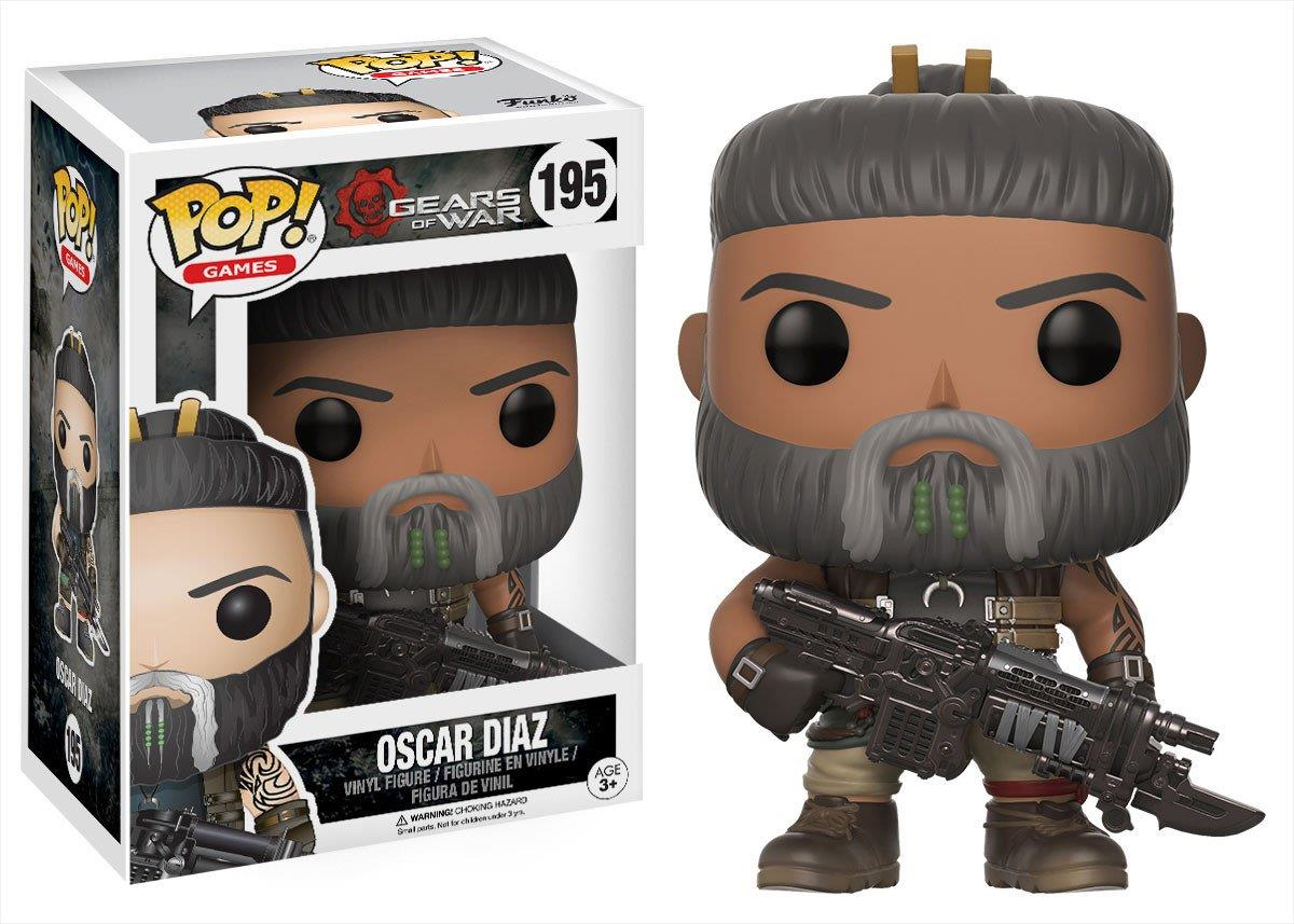FUNKO ACTION FIGURES FUNKO POP VINYL GEARS OF WAR OSCAR DIAZ