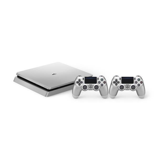 SONY CONSOLE PS4 SLIM 500GB + CONTROLLER SILVER