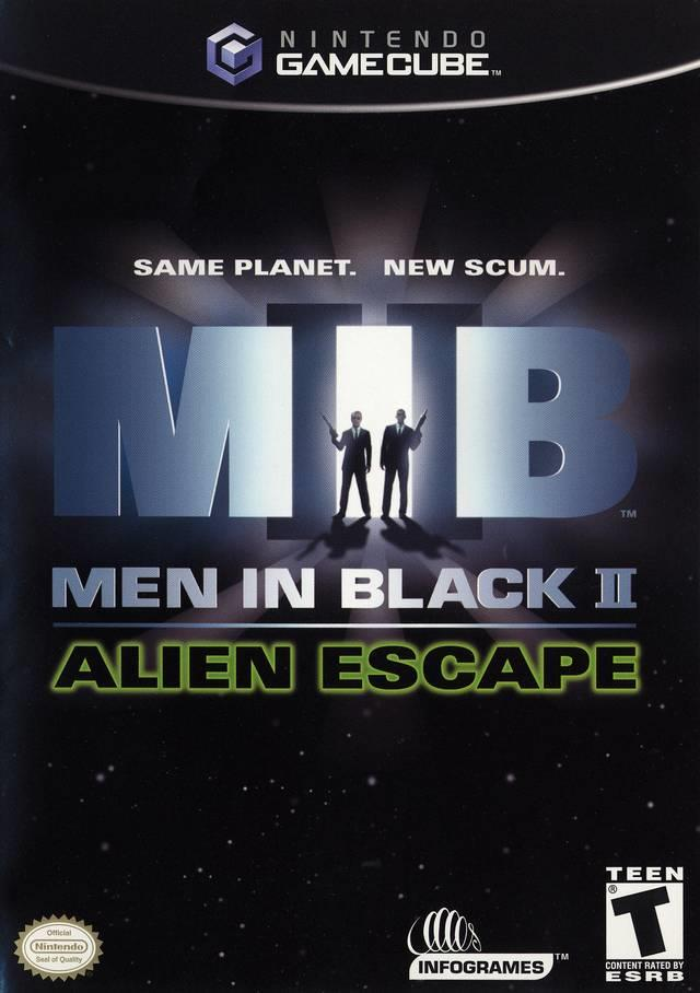 SONY GAME NINTENDO GC MEN IN BLACK II ALIEN ESCAPE