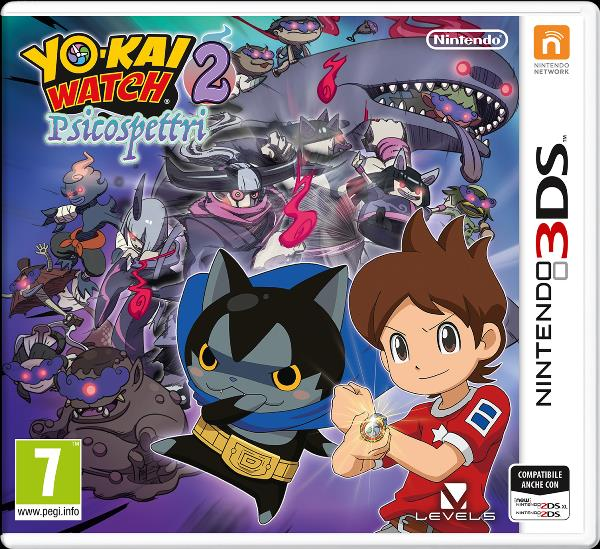 NINTENDO GAME NINTENDO 3DS YO-KAI WATCH 2 PSICOSPETTRI