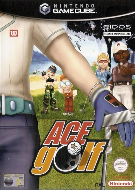 SONY GAME NINTENDO GC ACE GOLF