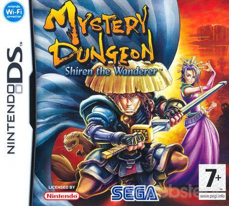NINTENDO GAME NINTENDO DS MYSTERY DUNGEON SHIREN THE WANDERER