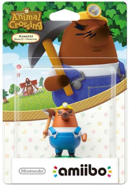 NINTENDO AMIIBO NINTENDO ANIMAL CROSSING RESETTI