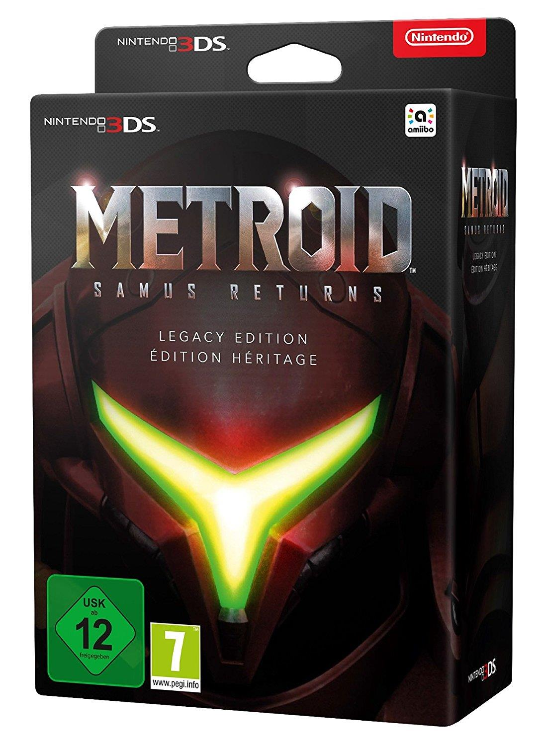 ELECTRONIC ARTS GAME NINTENDO 3DS METROID SAMUS RETURNS LEGACY EDITION