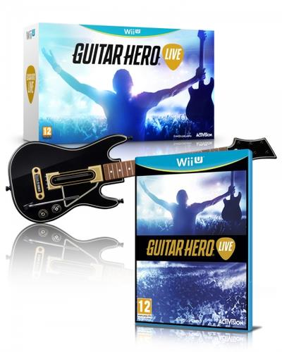 ACTIVISION GUITAR HERO LIVE WII U IS