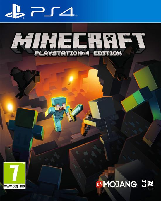 SONY GAME SONY PS4 MINECRAFT