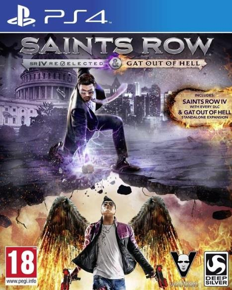 UBISOFT GAME SONY PS4 SAINTS ROW IV REELECTED GAT OUT OF HELL