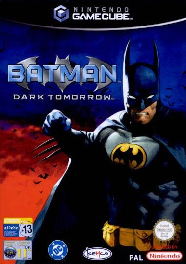 SONY GAME NINTENDO GC BATMAN DARK TOMORROW