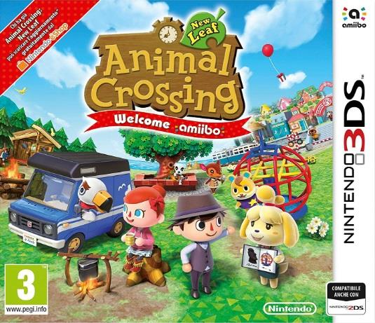 NINTENDO GAME NINTENDO 3DS ANIMAL CROSSING NEW LEAF WELCOME AMIIBO