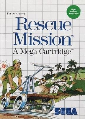 TAKE TWO INTERACTIVE GAME SEGA RESCUE MISSION A MEGA CARTRIDGE