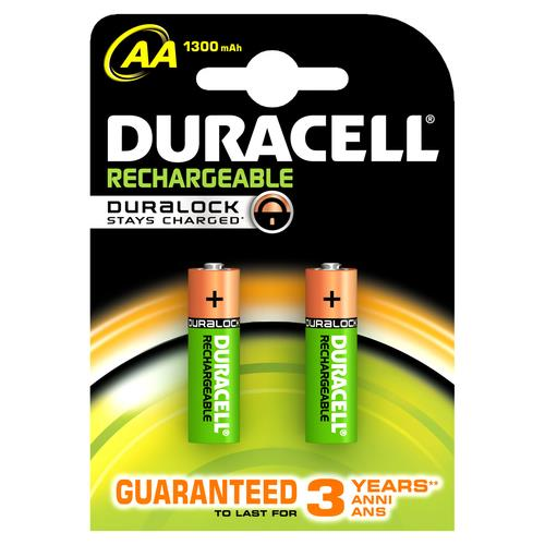 DURACELL CF2DUR RICARIC VALUE STAYCHARGE AA