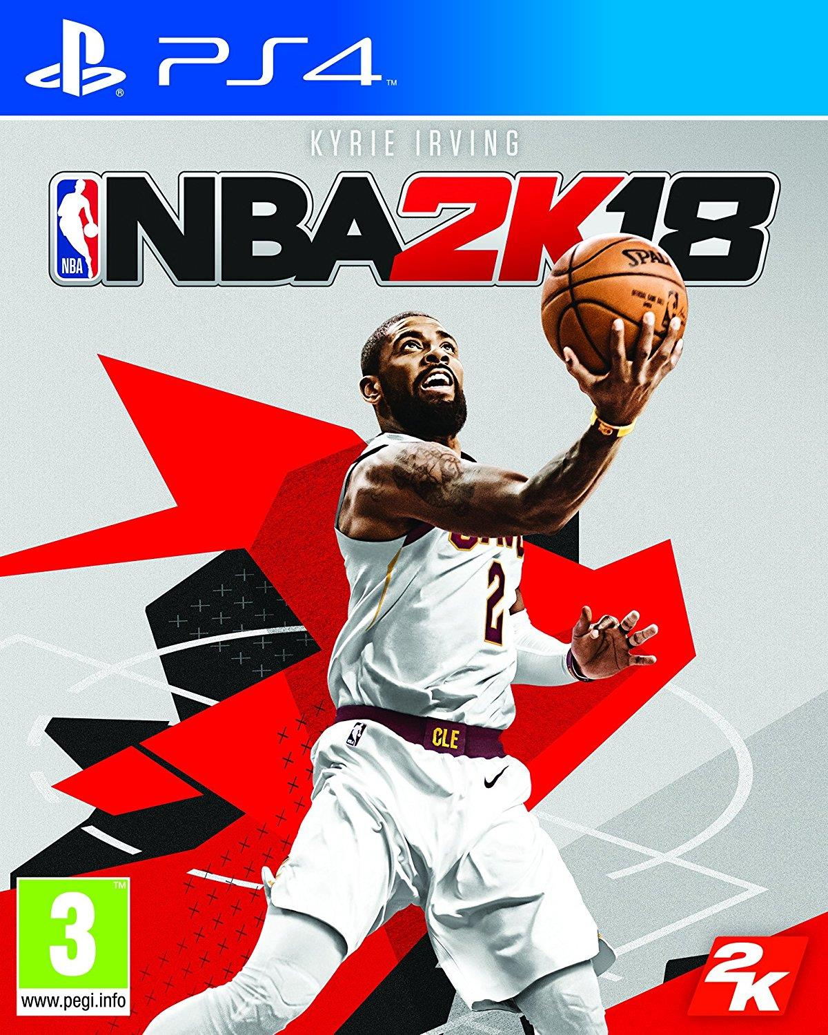 TAKE TWO INTERACTIVE GAME NBA 2K18 PER PS4