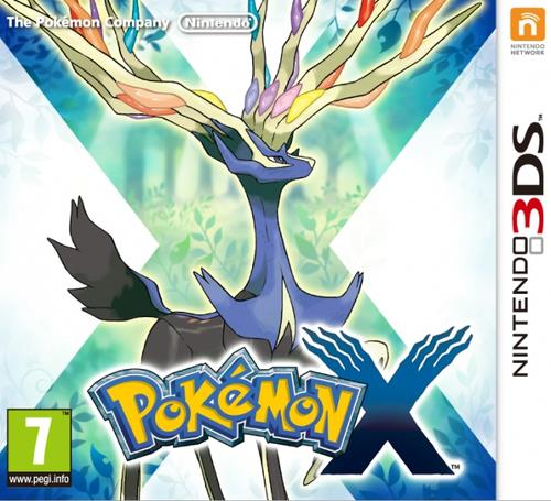 NINTENDO GAME NINTENDO 3DS POKEMON X