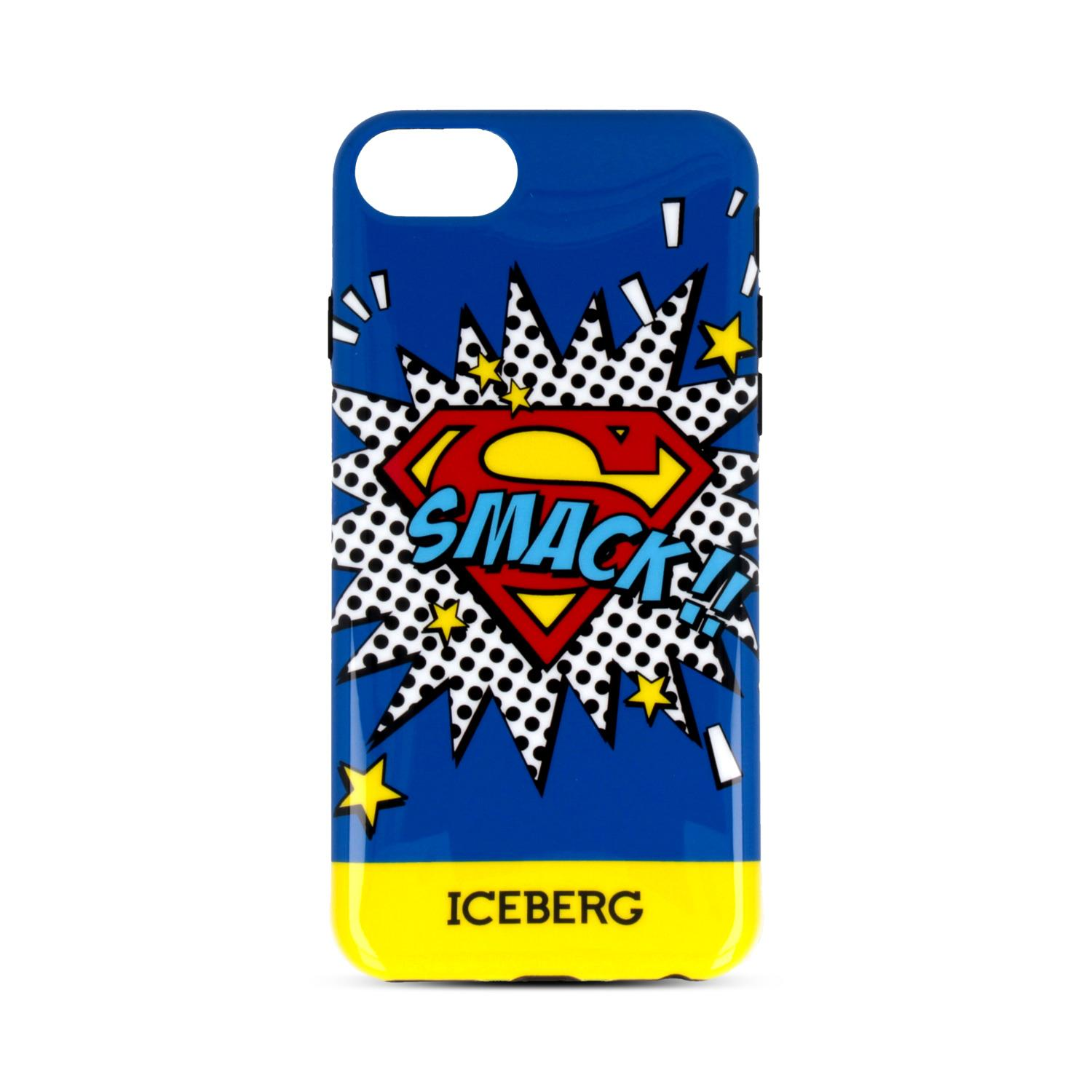 ICEBERG CUSTODIA ICEBERG SUPERMAN SMACK PER IPHONE 6/6S/7