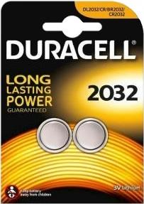 DURACELL BATTERIA DURACELL LITIO 3V CR2032 2PZ