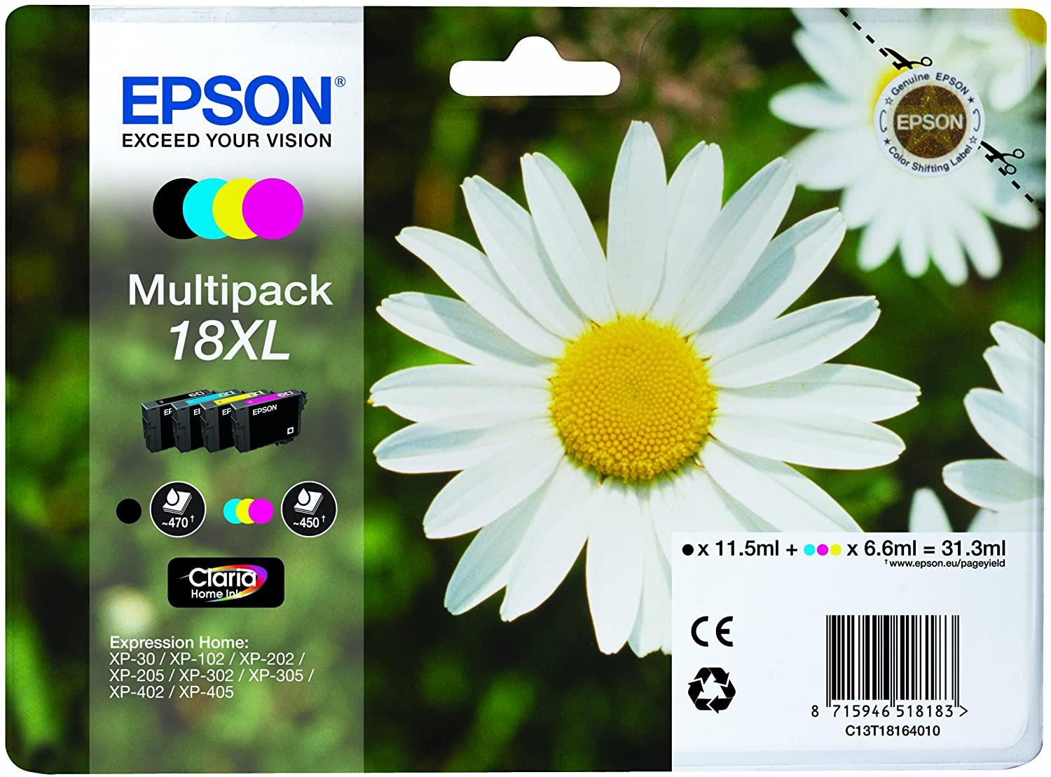 EPSON MULTIPACK MARGHERITA XL N.4 CARTUCCE