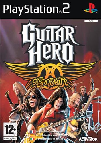 SONY GAME PS2 GUITAR HERO AREOSMIT
