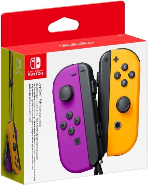 NINTENDO CONTROLLER NINTENDO JOY-CON PAIR PURPLE/ORANGE