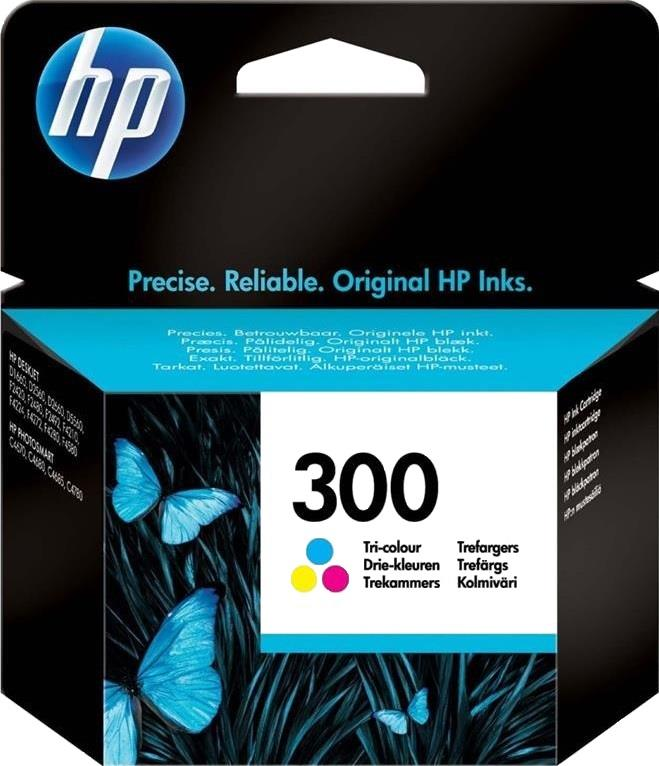 HP CARTUCCIA ORIGINALE HP INK JET HP 300 TRI COLOUR VIVERA BLISTER