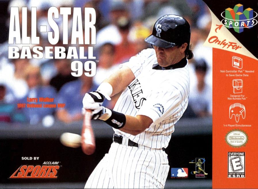 NINTENDO GAME NINTENDO N64 ALL-STAR BASEBALL 99