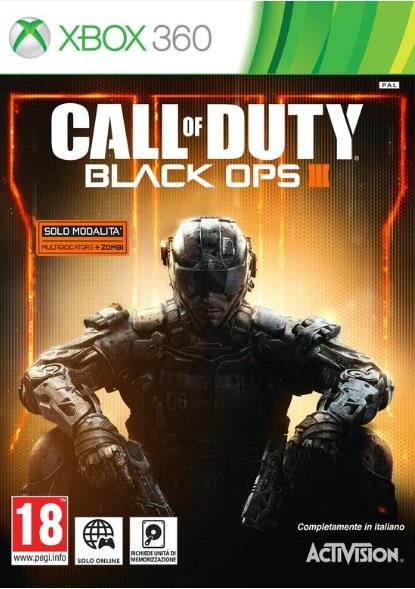 ACTIVISION GAME MICROSOFT XBOX 360 CALL OF DUTY BLACK OPS III