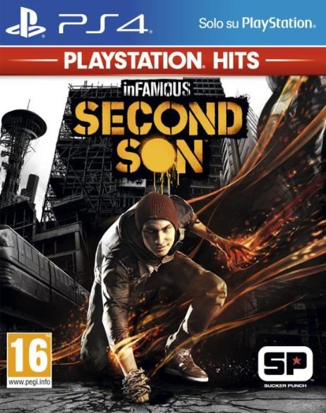 SONY GAME SONY PS4 INFAMOUS: SECOND SON PLAYSTATION HITS
