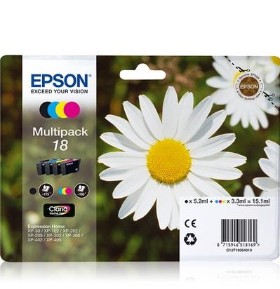 EPSON CARTUCCIA EPSON MULTIPACK INK MARGHERITA 18